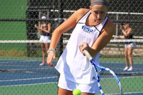 Girls tennis falls to Richard Montgomery