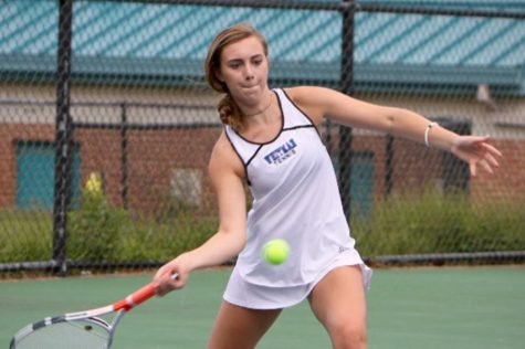 September 22: Girls tennis sweeps Rockville
