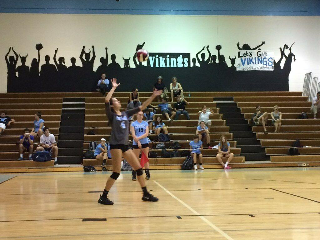 Girls volleyball dominates Wheaton