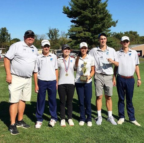 Golf Team Wins District Championships