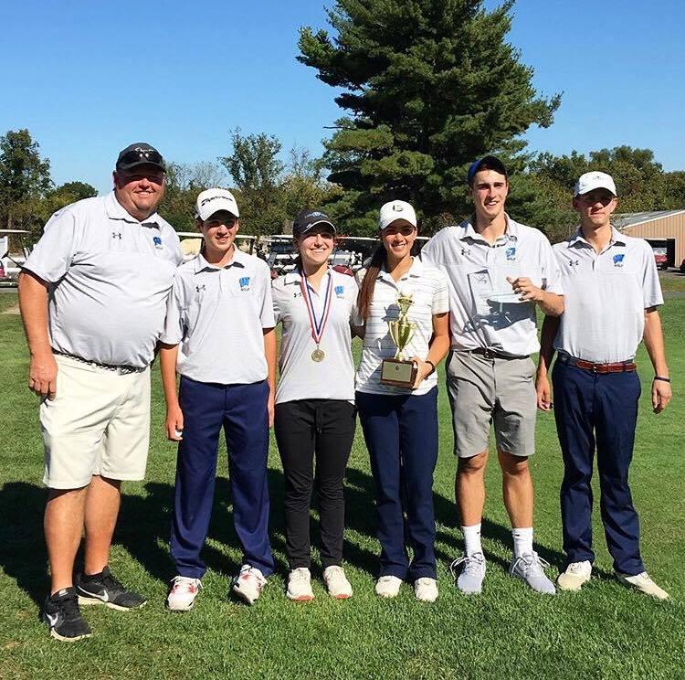 Golf Team Wins District Championships