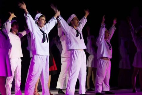 "Students balance comedy, dance in ""On the Town"""