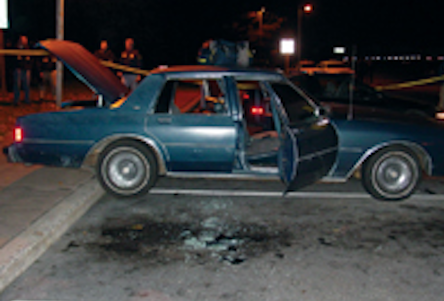 Police catch the D.C. snipers in a rest stop after three weeks worth of shootings in the area. The sniper attacks occurred 15 years ago, and many community members look back at how the attacks affected their lives. Photo courtesy the Federal Bureau of Investigations via Wikipedia Commons.
