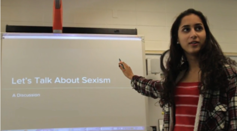 Let's talk about sexism: senior organizes educational seminars