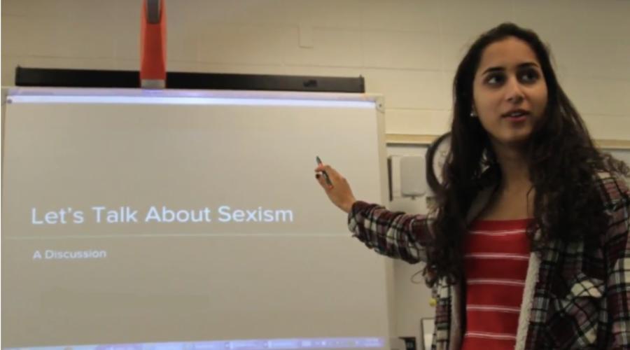 Let's talk about sexism: senior organizes educational seminars