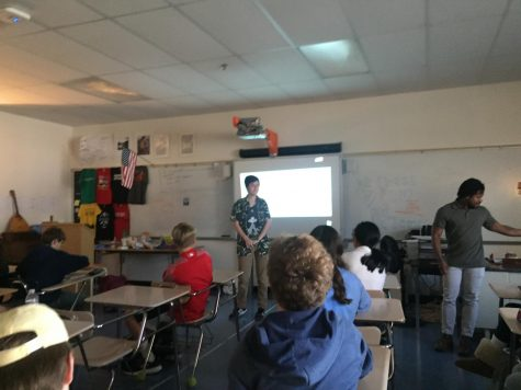 Junior teaches freshman English classes about transgender issues