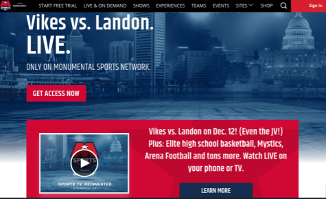 Boys Basketball game to be livestreamed on Monumental Sports Network