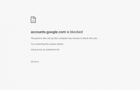 Students no longer able to access personal accounts from Chromebooks