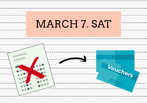 Whitman cancels free SAT, provides redeemable vouchers