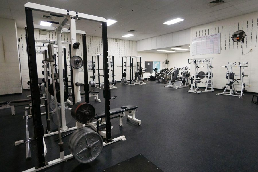 Weight room strengthens athletes' performance