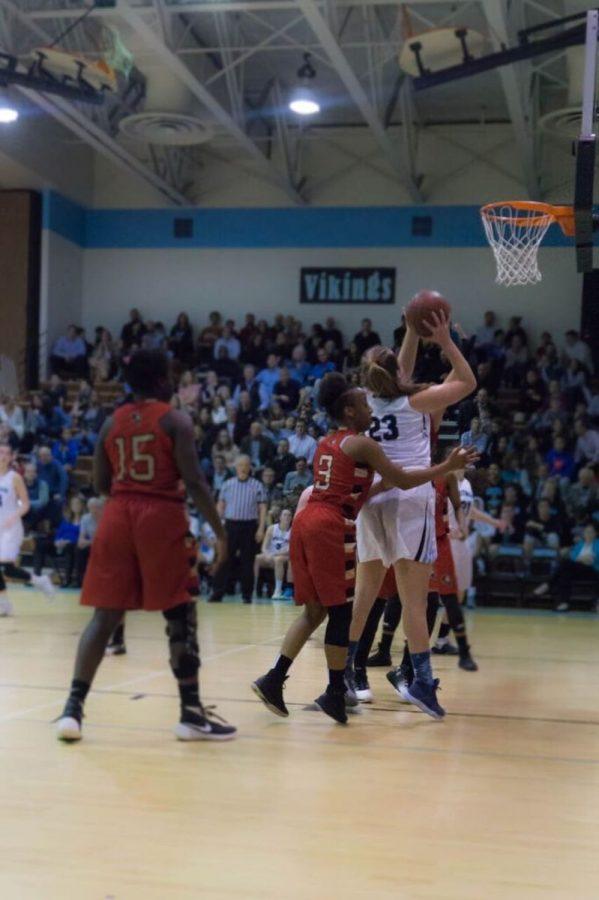 Girls basketball dominates Wheaton 60–17