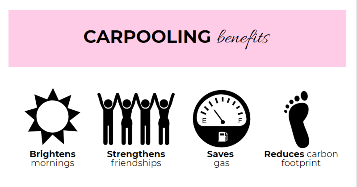 The upside of not getting a parking permit: carpooling