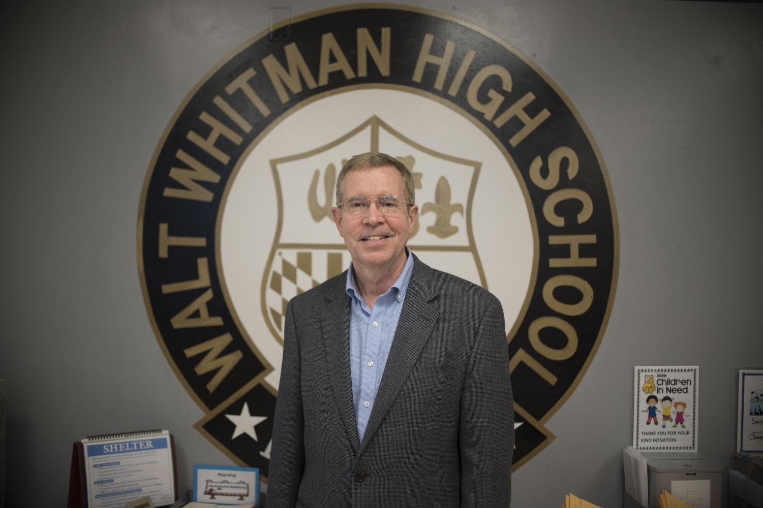 Principal Alan Goodwin is set to retire at the end of the school year. Photo by Annabelle Gordon.