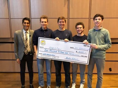 Four students win Social Entrepreneurship Tournament, start business with seed money
