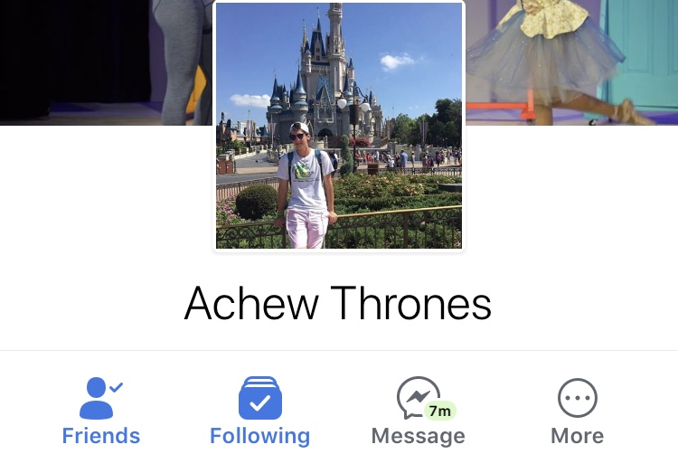 Senior+Matthew+Rones+changed+his+Facebook+name+to+%22Achew+Thrones.%22+Rones+is+part+of+a+trend+of+seniors+changing+names+to+preserve+privacy+and+follow+tradition.+Screenshot+by+Rebecca+Hirsh.