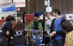 Robotics competition season finishes with district tournaments