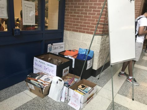 "Whitmaniacs organizes ""Give Like Goodwin"" book drive"