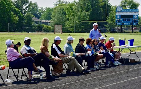 Whitman honors retiring staff in outdoor ceremony