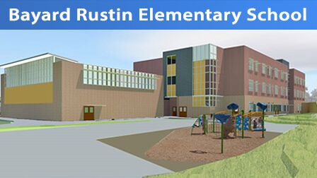The BOE voted to name a new Richard Montgomery cluster elementary school after Bayard Rustin, making it the first MCPS school with an openly LGBTQ namesake. Rustin helped organize the 1963 March on Washington. Photo courtesy MCPS.