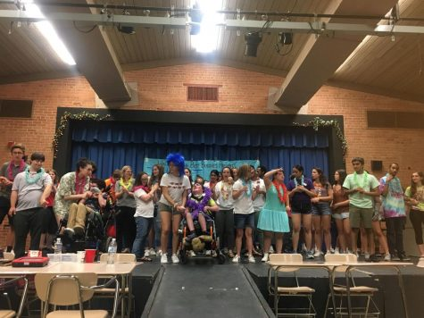 Best buddies sing, dance, do magic at annual talent show