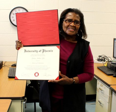 Whitman paraeducator of 16 years earns Ph.D.