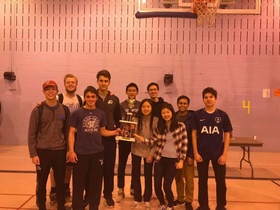 Whitman's academic clubs compete in a variety of tournaments year-round. The chess team won states for the second consecutive year. Photo courtesy Alex Chen.