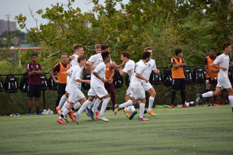 Boys soccer falls to St. Benedict's 2–1