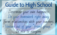 Advice for underclassmen: a look back from senior year