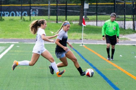 Girls soccer takes down B–CC 2–0 to win Battle of Bethesda