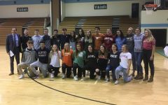 School celebrates college commits with signing day reception