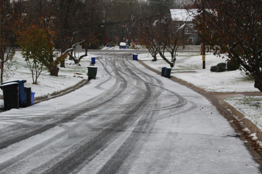 Photo of the Day: First snow day of the year disrupts school activities