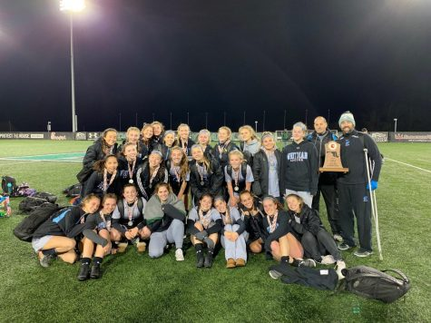Girls soccer falls to Perry Hall 4–2 in state championship