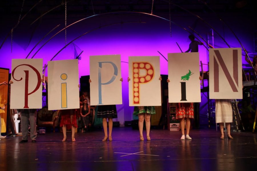 Pippin debuted November 15. Tech teams started preparing for the show during the second week of school.