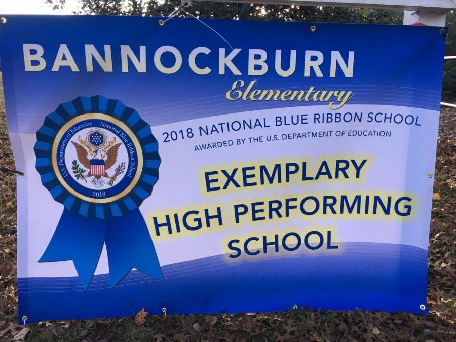 Bannockburn Elementary wins National Blue Ribbon Award
