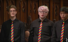 Whitman sophomore sings at Matthew Shepard interment