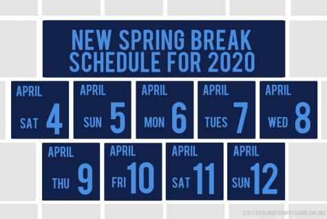 MCPS to return to ten-day spring break