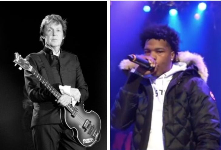 Paul+McCartney+and+Lil+Baby+sing+on+stage.+Both+released+albums%E2%80%94Egypt+Station+and+Drip+Too+Hard%E2%80%94this+Fall.+Photo+via+Wikimedia+Commons.+