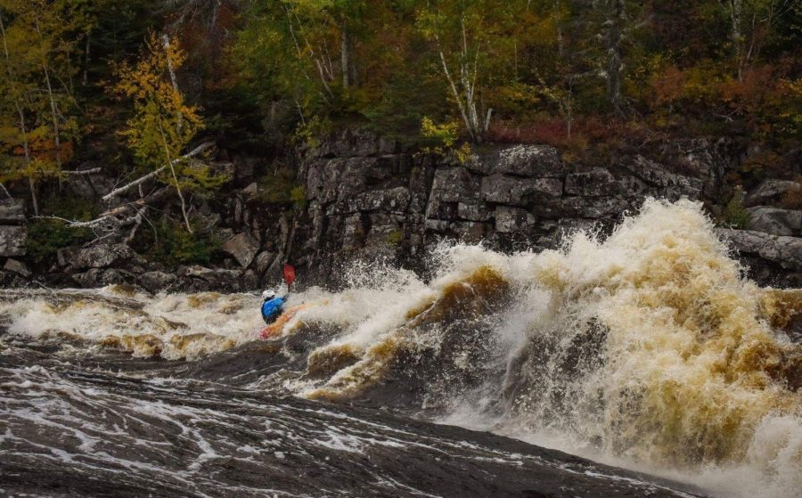 Andrew+Palim+rides+the+rapids+of+the+Mistassini+river+in+Quebec%2C+Canada.+Palim+joined+the+World+Class+Kayaking+Academy+in+March+2018.+Photo+courtesy+Andrew+Palim.