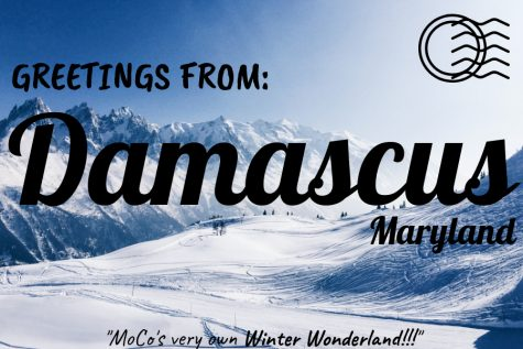 Damascus is a permanent winter wonderland