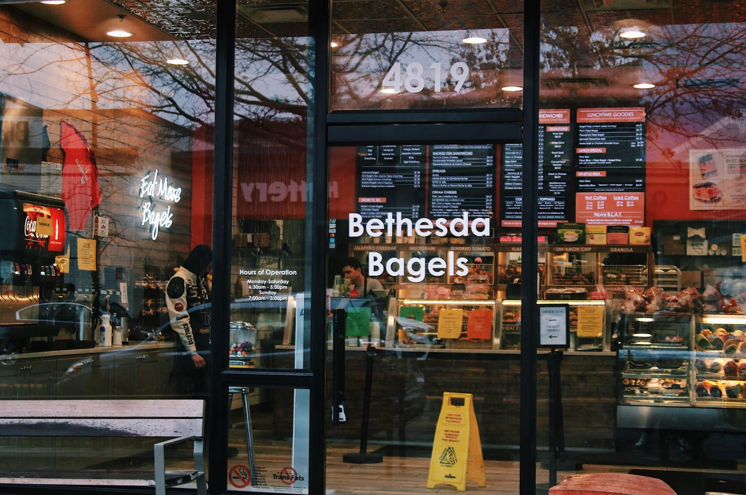 Bethesda Bagels is opening a new location at Wildwood Shopping Center. The local bagel chain is a family run business with an endearing past.