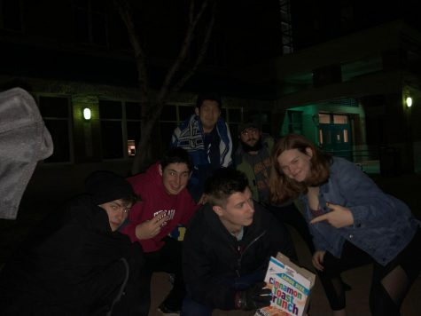 Student camp out at Whitman for parking permits