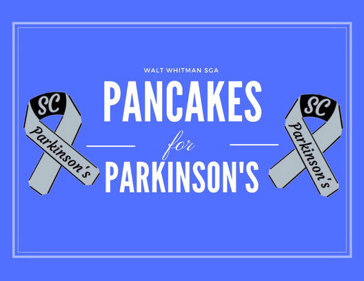 Pancakes for Parkinson's will be held Mar. 16 at 11:30 a.m. in the cafeteria. Graphic courtesy Julia Clayton.