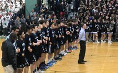 Boys basketball season ends after 72–65 OT loss to WJ