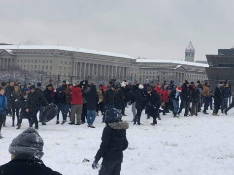 Snow day? S'no problem! Q&A with Michael Lipin, manager of D.C. Snowball Fight Association