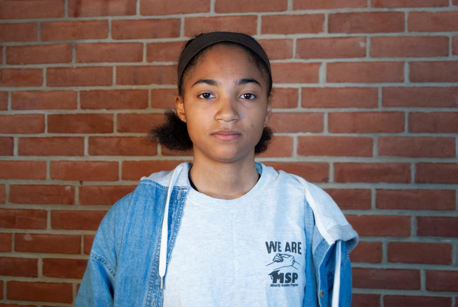 Senior Breanna McDonald started the Whitman chapter of Minority Scholars Program last year with three other students. She is currently working on a racial awareness film project with the club.