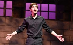 Millin performs at a summer intensive he participated in last year at Oklahoma University. Millin's love for theatre doesn't stop when the school year ends; he regularly spends his summers attending intensives or working as a counselor at the Imagination Stage Summer Camp.