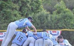 Boys baseball outlasts B–CC 2–1 in low scoring extra inning thriller