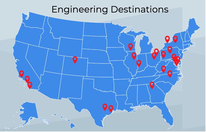 Students pursue engineering majors