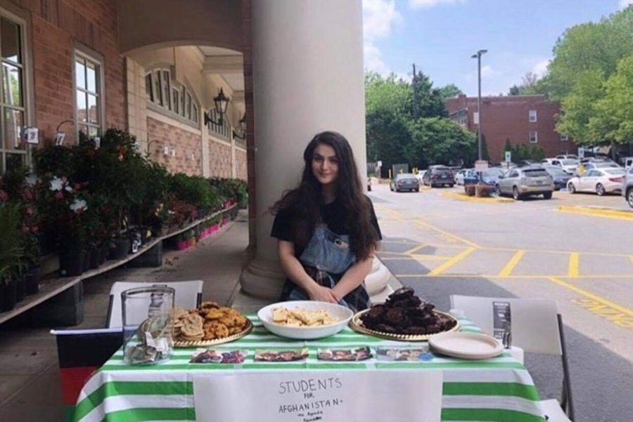 Sophomore Nicole Ahad founded her club, Students for Afghanistan, after hearing stories from when her parents lived in the country. The club, which raises money through bake sales, is currently collecting clean sanitary pad products for children in Afghanistan. Photo courtesy Nicole Ahad.