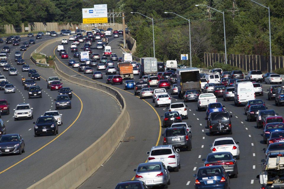 The Maryland Board of Public Works voted to expand and add toll lanes to I-270 and I-495 June 5. Though the bill is supposed to reduce congestion, many Montgomery County residents doubt it will help. Photo courtesy The Washington Post.